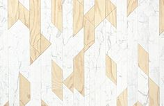 W&W Wall Inlay by Patricia Urquiola for Budri marble wall design - Home Decorating Magazines Floor Patterns, Tile Patterns, Textures Patterns, Diy Wood Wall, Patricia Urquiola, 3d Texture, Marble Wall, Italian Marble, Wall Cladding