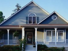 exterior paint colors with brown roof | For the Home | Pinterest ...