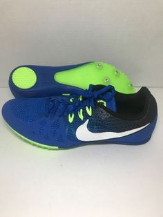 65a62b7a0fd2 Nike Sprint Spike Track Field Zoom Rival Mens Size 10 (806555-413) (eBay  Link)
