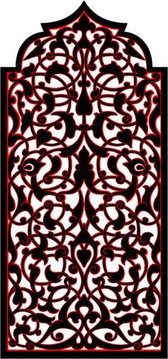 Узоры: Арабский орнамент (Векторная графика)
