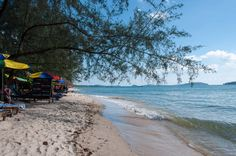 Beaches in Sihanoukville, Cambodia