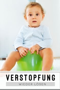 Daran erkennst du eine echte Verstopfung beim Baby und Kleinkind - und das kannst du tun.