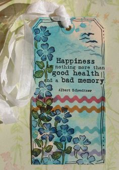 Create Dimension with Ink & Stamps - Tutorial - Inks, Tag, Stamps, Just For Fun Rubber Stamps