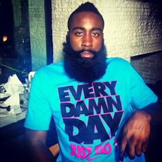 James Harden with a shit we cannot wear to school