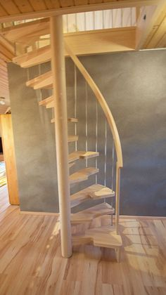 Ideas for attic stairs loft stairways Tiny House Stairs, Attic Stairs, Compact Stairs, Escalier Art, Wrought Iron Stairs, Wooden Stairs, Attic Remodel, Carpet Stairs, Basement Carpet