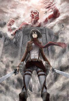 - Attack on Titan - Mikasa
