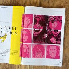 Sunday sketch. Listening to the Velvet and tattooing my #MetropolitanMagazine #doodleonthetrain #AntoineRenault #art