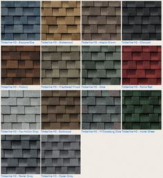 GAF Timberline HD #Roofing Shingle Color Options Contact us today for free estimate www.carefreehomescompany.com