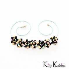 Black Pastel Rainbow Rose Flower Crown, Flower Headband, Pride Headband, Kawaii Headband, Lolita Hair Accessories, Coachella Crown, PLUR