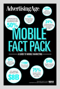 Mobile Fact Pack 2013: Ad Age's Guide to Mobile Marketing | Digital - Advertising Age