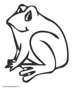 frog coloring pages for kids az coloring pages