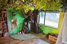 "Rob Adams is a dad from Bellevue, WA who took it to heart when his daughter requested a ""fairy tree"" in her room. 