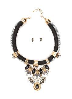 Mystical Boho Necklace Set BLACKMULTI BEIGEMULTI - GoJane.com