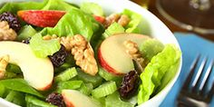 Art Celery, Blue Cheese and Hazelnut Salad Recipe food-and-drink Salad Bar, Soup And Salad, Ham Salad, Taco Salad Recipes, Healthy Recipes, Healthy Salads, Diabetic Recipes, Good Food, Yummy Food