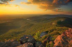 Hiking the Appalachian trail...Skyline Drive, Shenendoah National Park
