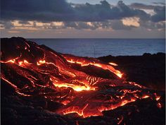 Hawaii Volcanoes National Park!  I remember going here when I was 10!  Such an amazing, unforgettable experience. :)