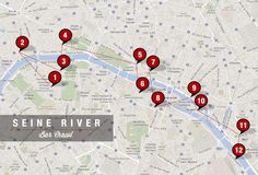 A river-crossing bar crawl along the Seine