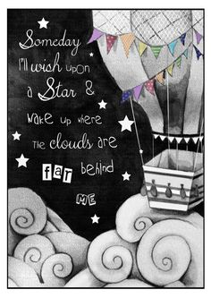 Song quote print by StephJonesArtist on Etsy, £15.00 Wizard of oz
