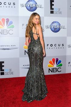 Pin for Later: 20 Times the Back of the Star's Dress Was Better Than the Front Sofia Vergara