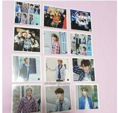 BTS BANGTAN BOYS Photo Mini Cube Sticker 5x5cm 12pcs all member K-star K-pop  #Unbranded