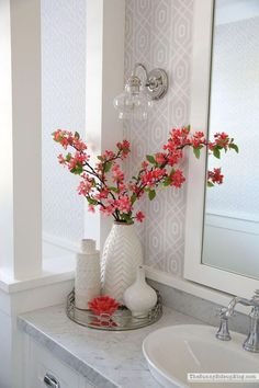 Simple Spring Updates (Sunny Side Up) Probably we all agree that without a ba. - Simple Spring Updates (Sunny Side Up) Probably we all agree that without a bathroom, nothing hap - # Bathroom Counter Decor, Restroom Decor, Spring Decor, Master Decor, Simple Bathroom Decor, Small Bathroom Decor, Spring Home Decor, Summer Living Room Decor, Bathroom Decor