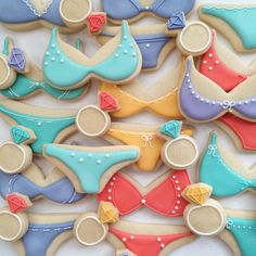 Lingerie Sugar Cookies by HollyFoxDesign on Etsy