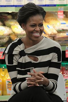If someone gets in contact with Michelle Obama, please let her know that I need this top, STAT!