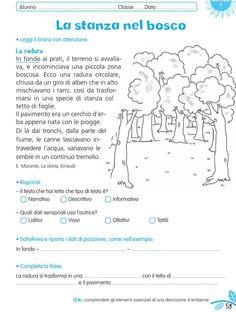 luni e tuni Italian Courses, Italian Words, Reading Practice, Italian Language, Learning Italian, Worksheets, L2, Preschool, Teacher