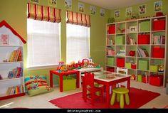 awesome Çocuklar için oyun odası dekorasyonu