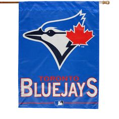 WinCraft Toronto Blue Jays Primary Logo 27'' x 37'' Vertical Banner Flag - $19.99