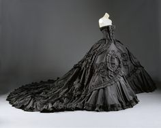 "John Galliano ""Maria-Luisa (dite Core) 1998 French, silk, metal, glass, wool, synthetic"