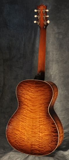 Nick Lucas Style Quilted Maple Acoustic Guitar