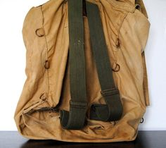 Vintage Boy Scouts Of America New York City Canvas Yucca Backpack
