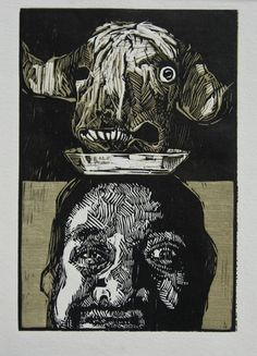 XILOGRAVURA - Irving Herrera