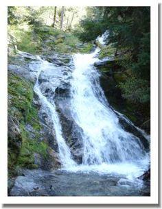 Whiskey Town Falls, Shasta County