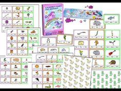 Adaptation les licornes dans les nuages   Identification syllabique -  Disponible au format du logiciel ArtisKit ce groupe Face Book – Partage de matériel Artiskit : Orthophonie http://www.facebook.com/groups/128326657315777/