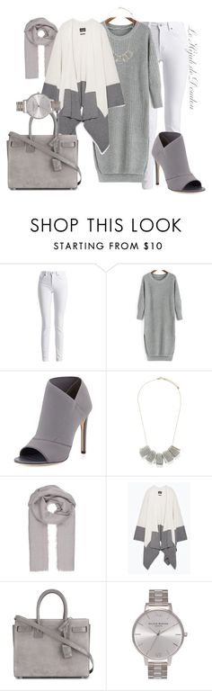 """""""Hijab Outfit"""" by le-hijab-de-doudou ❤ liked on Polyvore featuring Barbour International, Charles David, Forever 21, Zara, Yves Saint Laurent and Olivia Burton"""
