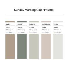 15 More Minimalist Color Palettes to Jump Start Your Creative Business — Jordan Prindle Designs Earth Colour Palette, House Color Palettes, Paint Color Palettes, Colour Pallette, Website Color Palette, Scheme Color, Monochromatic Color Scheme, Colour Schemes, Color Combinations