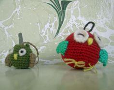 Cute little owl amigurumi... Niedliche kleine Eulen amigurumi... Şirin küçük baykuş amigurumiler...