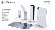 Privatize your world with LG PaperTouch Phone