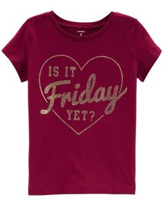 ca024a787e Is It Friday Yet Jersey Tee