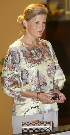Countess of Wessex - Sophie, Countess of Wessex, Works with ORBIS - how beautiful?