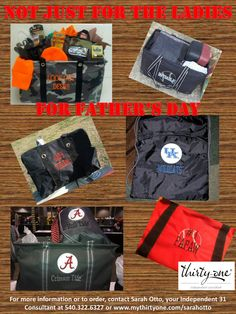 Thirty-One...not just for women!   www.mythirtyone.com/sarahotto