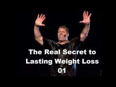 Session 1 - The Real Secret to Lasting Weight Loss from Tony Robbins - YouTube