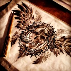 by Kid-Kros- I would prefer a cross in the middle instead of the skull