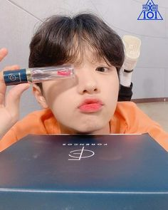- SON DONGPYO (손동표) DSP Media 190628 ㅡ #PRODUCE_X_101 Instagram update with Dongpyo  his kissy face is the cutest✨💕 · #SONDONGPYO #손동표…