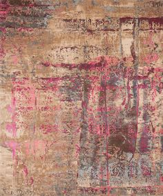 Jan Kath has transposed the profound color spectacle to the carpet in ARTWORK. By JAN KATH