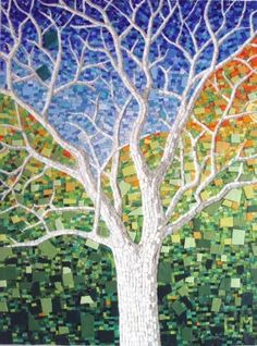 Mosaic Tree by lauri