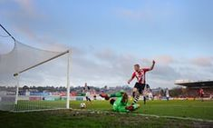 Jayden Stockley misses a chance during City's defeat by West Bromwich Albion in the FA Cup round. Ben Foster had fumbled a shot but Stockey could only hit the post. Exeter City, West Bromwich, Fa Cup, Amazing Photography, Football, Sports, Futbol, American Football, Excercise