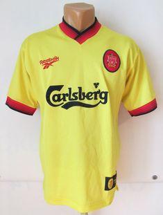 7eba228ed Liverpool 1997 1998 1999 away football shirt by Reebok LFC YNWA jersey  soccer vintage